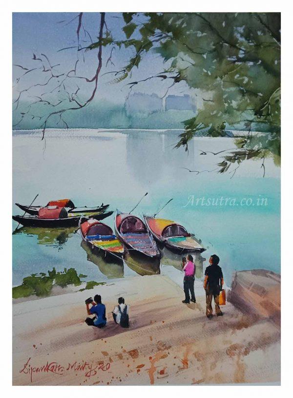 Princep-Ghat-Painting